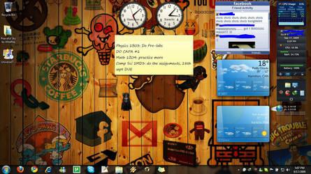 Sept 17th 09 Desktop shot by AfzalivE