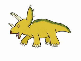 Triceratops  by Mr5urfwave