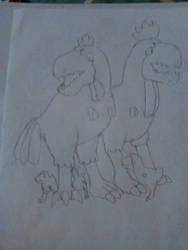 Pullum Rex family by Mr5urfwave