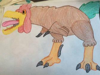 Pullum Rex cockerel by Mr5urfwave