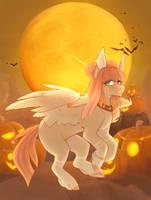 halloween ych again by Riressa