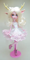 Lilia Fawn Monster High Ooak Doll by artchica83