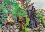 Encounter at Bag End - miniature by Andrzej5056
