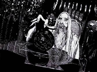 Saruman by Andrzej5056