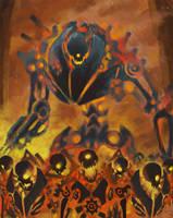 One Eyed Demon Army by LasloLF