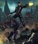 Mass Effect by LasloLF