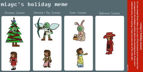 Ho-ho-holidays Meme by DarkKnightSpider