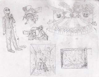 Sketches 4 by skippymaker