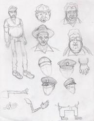 Sketches 5 by skippymaker