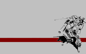 Vertical Tank Wallpaper by glox