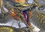 Chinese Dragon / Summoner by Daviddleonluis