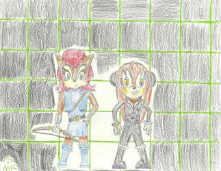 Code: NICOLE Virtualized Designs: Sally and Phonus by Elizzy-Bee