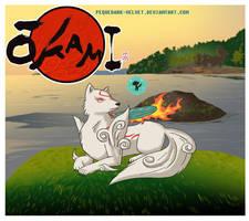 OKAMI CONTEST ENTRI 2 by PEQUEDARK-VELVET