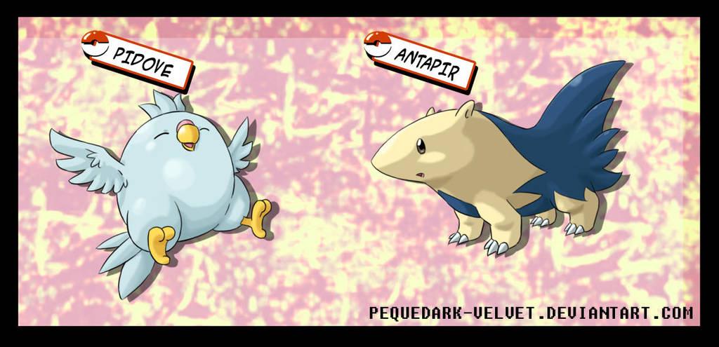 Fakeoff 2010: 2 Pokemon more by PEQUEDARK-VELVET