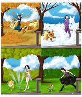 Commission .:Seasons:. by PEQUEDARK-VELVET