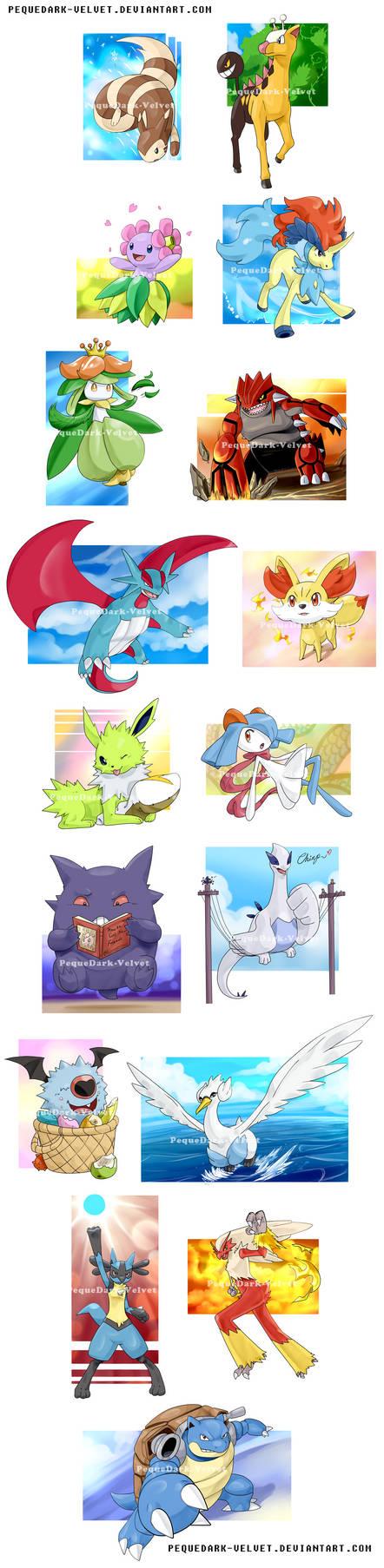 Livestream .:17 Pokemon color:. 02 by PEQUEDARK-VELVET