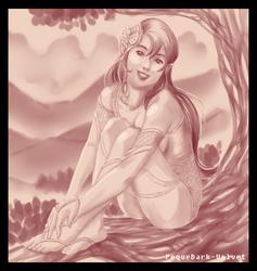 Happy practice request .: Just an Elf:. by PEQUEDARK-VELVET