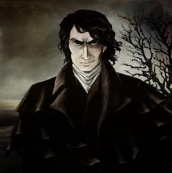 Portrait of Heathcliff by Myrrha-Silvenia