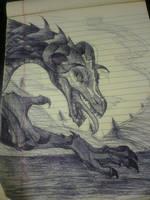 Dragon by Emerii