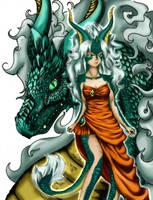 Dragon Princess by Emerii