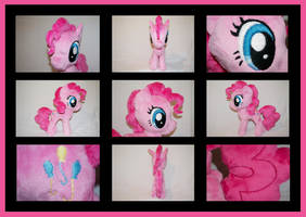 MLP: Pinkie Pie Plushie - Alternate Views by MLPPlushies