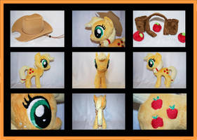 MLP: Applejack Plushie - Alternate Views by MLPPlushies