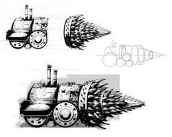 Blackmoor Steam Engine (2003) by AllanAlegado