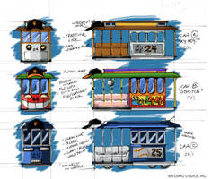 Trolley Character Concepts (2004) by AllanAlegado