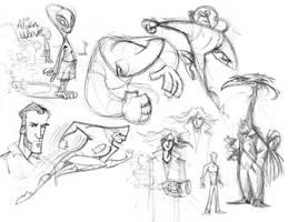 Sketchsplosion 03 (2005) by AllanAlegado