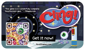 First5 Games Promo Card - Cling! (2013) by AllanAlegado