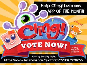 Cling! Vote Promo 800x600 (2013) by AllanAlegado