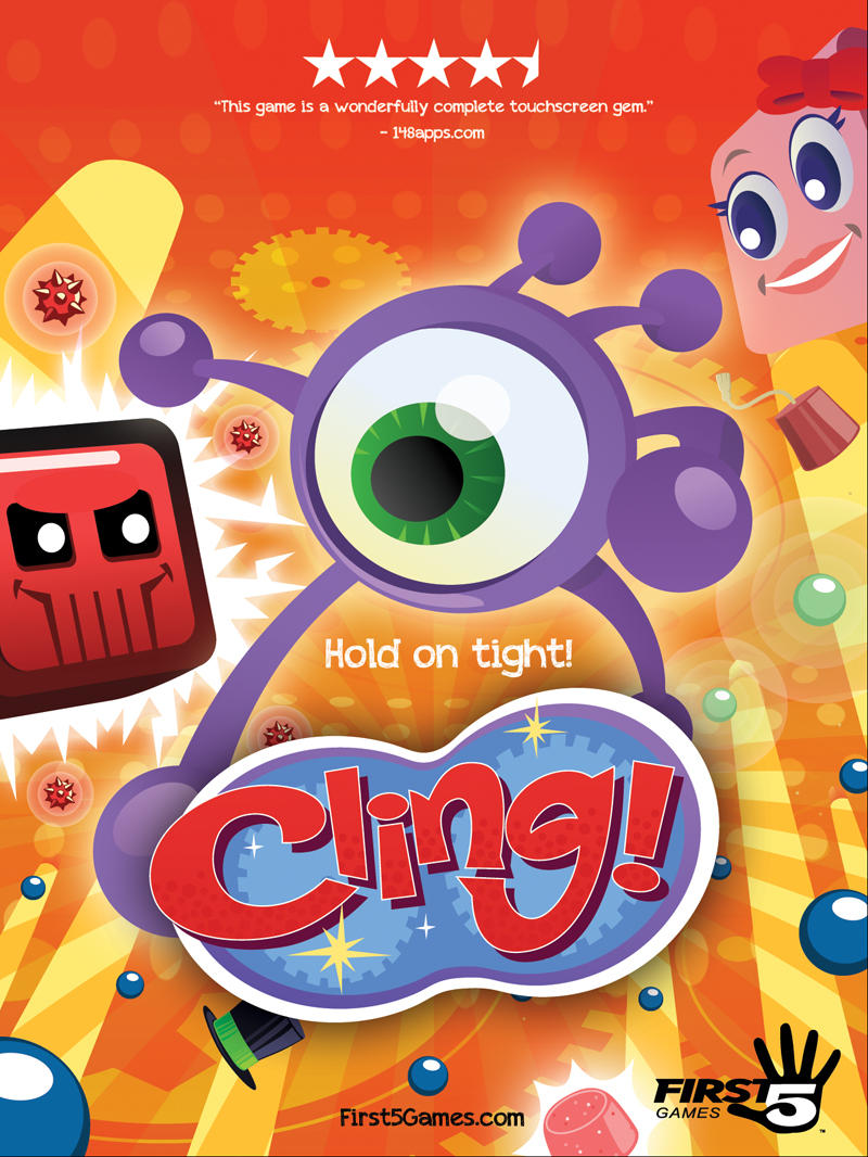 Cling! Movie Poster (2013) by AllanAlegado