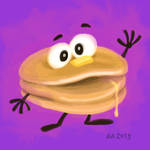 Super Happy Pancake! (2013) by AllanAlegado