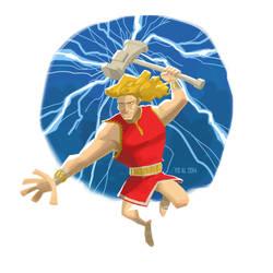 Thor (2014) by AllanAlegado