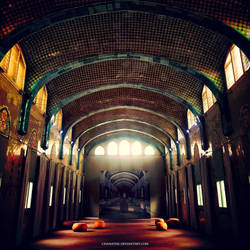 Hospital Santa Creu i Sant Pau - Barcelona by chamathe