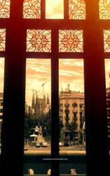 Sagrada Familia by chamathe
