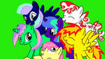 All My Oc's As Fillies! by pizza-palace