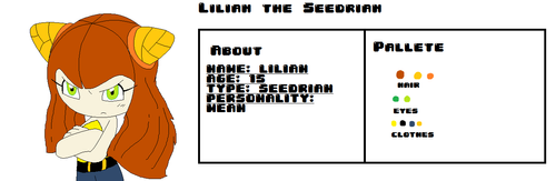 Lilian the Seedrian ref sheet by pizza-palace