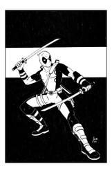 Deadpool Inks by ArtofJoshMaikis