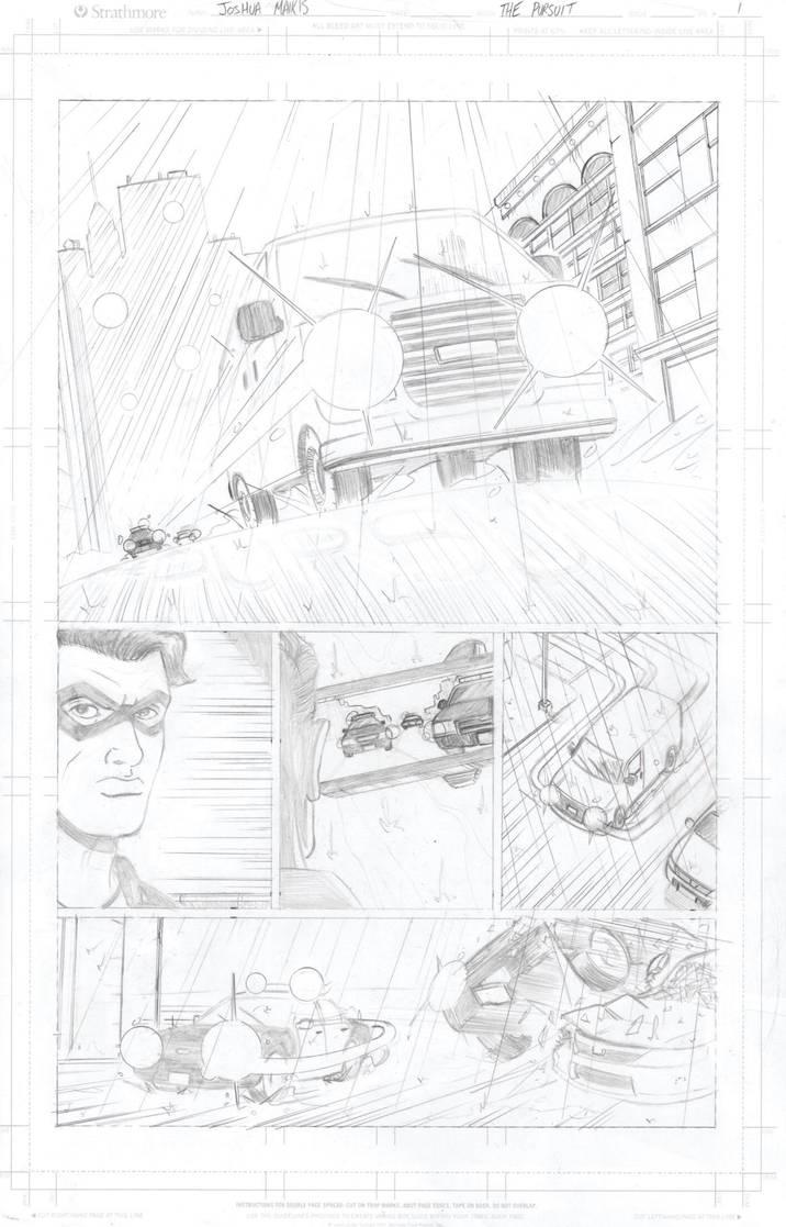 The Pursuit Page 1 by ArtofJoshMaikis