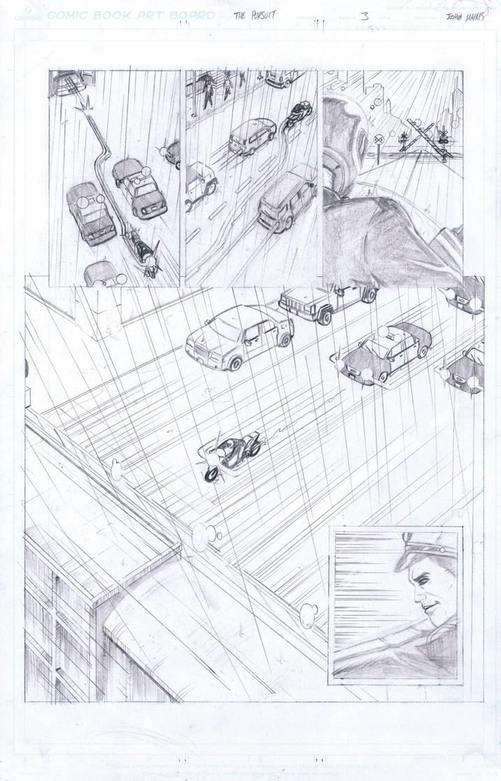 The Pursuit Page 3 by ArtofJoshMaikis