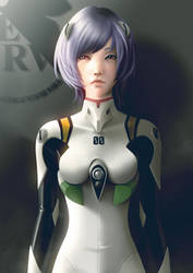 Ayanami Rei by lenadrofranci