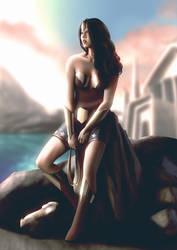 Wonder Woman by lenadrofranci