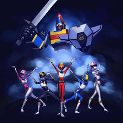Dengeki Sentai Changeman by lenadrofranci