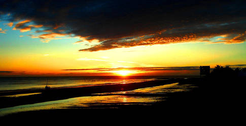 Sunset by lucassilva