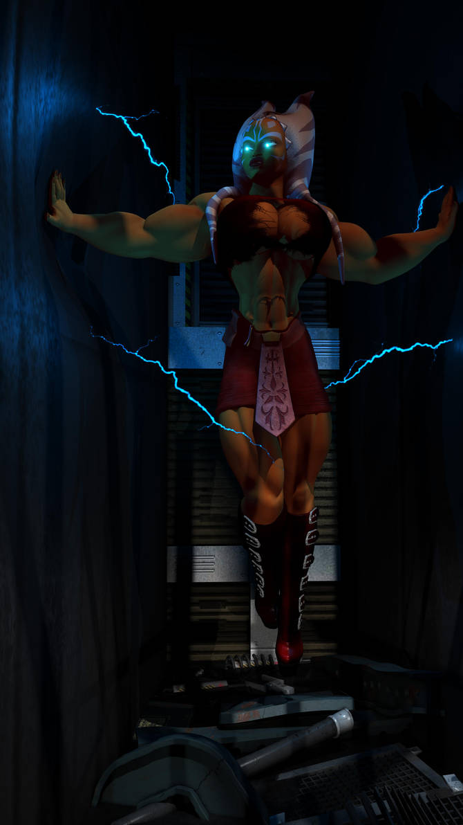 Ahsoka's super force by SuperCDR
