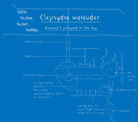 Blueprints: Clepsydra Marauder by Rogue-Skies
