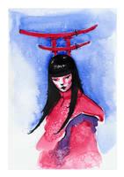 Torii - The Guardian by hypnothalamus