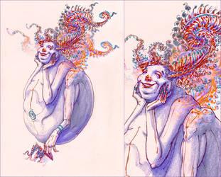 The fractal identity by hypnothalamus