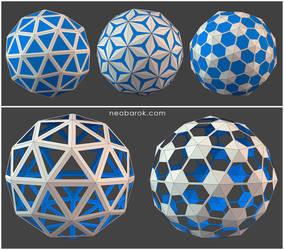 Neobarok :: Mesh patterns by hypnothalamus